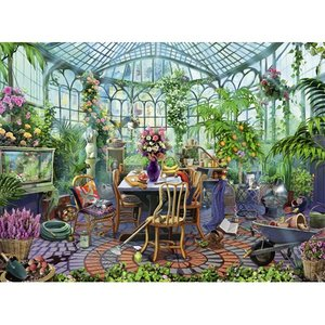 Greenhouse Morning 500 Bitar Ravensburger