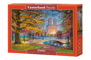 Autumn Stroll, Central Park 1500 Bitar Castorland