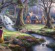Snow White Discovers the Cottage 1000 Bitar Schmidt