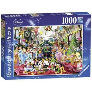 Disney - All aboard for Christmas 1000 Bitar Ravensburger