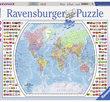 Political World Map 1000 Bitar Ravensburger