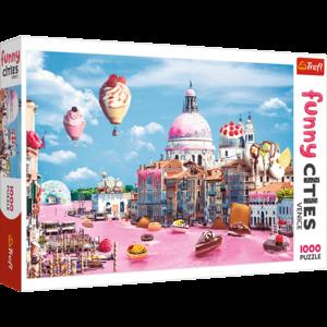Sweets in Venice 1000 Bitar Trefl