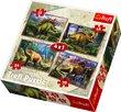 The Dinosaurs 4x1 Trefl