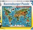 World of Animals 300 XXL Bitar Ravensburger