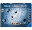 Krypt silver 654 Bitar Ravensburger