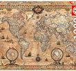 Antique World Map 1000 Bitar Educa