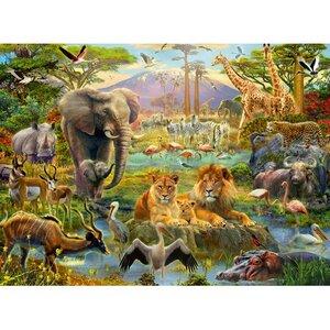 Animals of the savanna 200 XXL Bitar Ravensburger