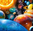 Planets and their Moons 300 Bitar Castorland