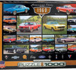 American Cars of The 1960 1000 Bitar Eurographics Puzzle