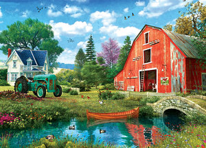 The Red Barn 1000 Bitar Eurographicspuzzle