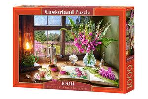 Still Life With Violet Snapdragons 1000 Bitar Castorland