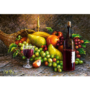 Fruit and Wine 1000 Bitar Castorland
