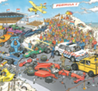 Formula 1. The Start 1000 Bitar JvH Jumbo