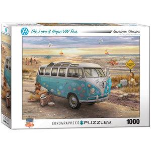 The Love & Hope VW Bus 1000 Bitar Eurographics