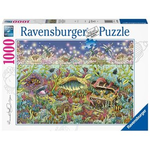 Underwater kingdom at dusk 1000 Bitar Ravensburger
