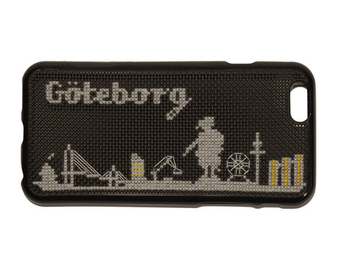 iPhone 6 broderikit - Göteborg skyline