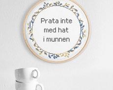 Prata inte med hat i munnen (Swedish)