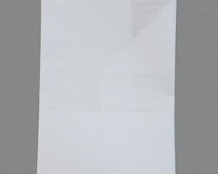 White aida fabric in  18 crosses/inch
