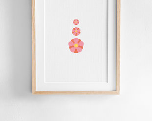 DIY Embroidery kit aida Majblomman (3 i 1)