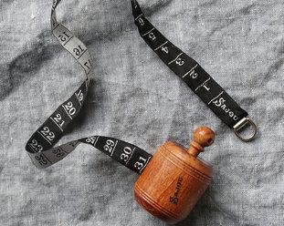 Wooden Dressmaker's tape from Sajou