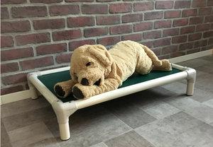 Kuranda säng PVC-Vit  / Medium