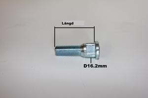Wheelstud M14x1.5 för spacers