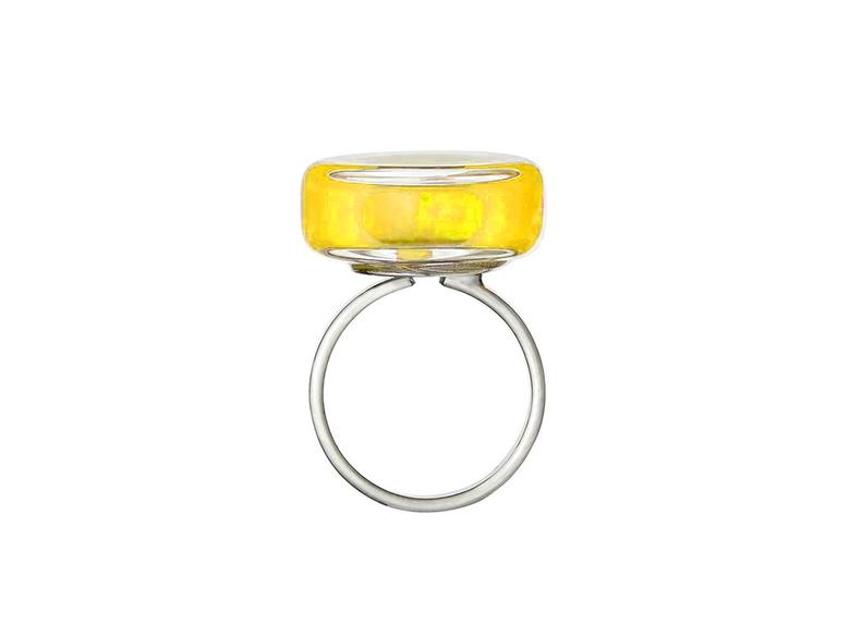 Ring, Cachou nano milk - gul