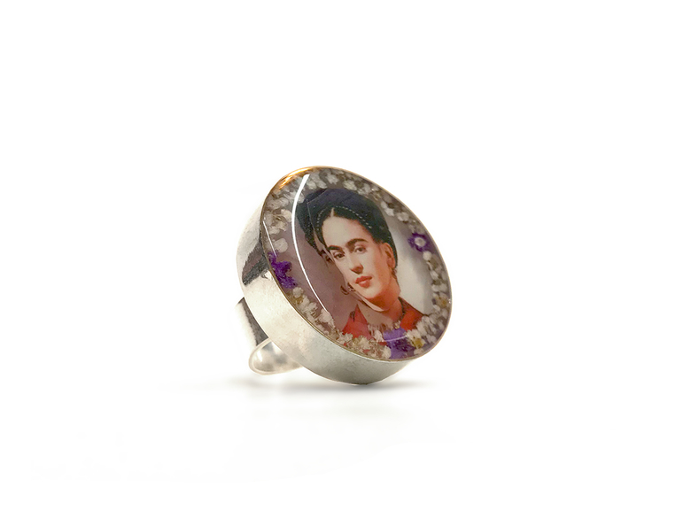 Ring 'Frida' rund