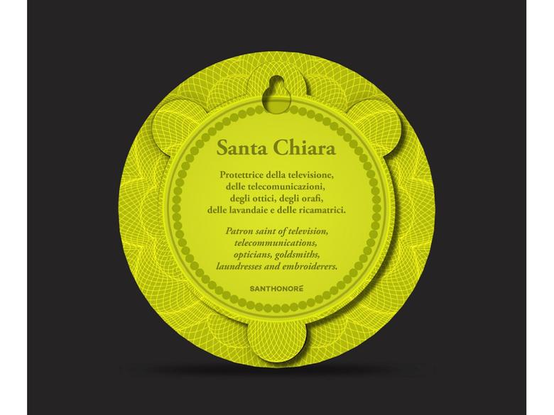 Ikon 'Sankta Chiara'