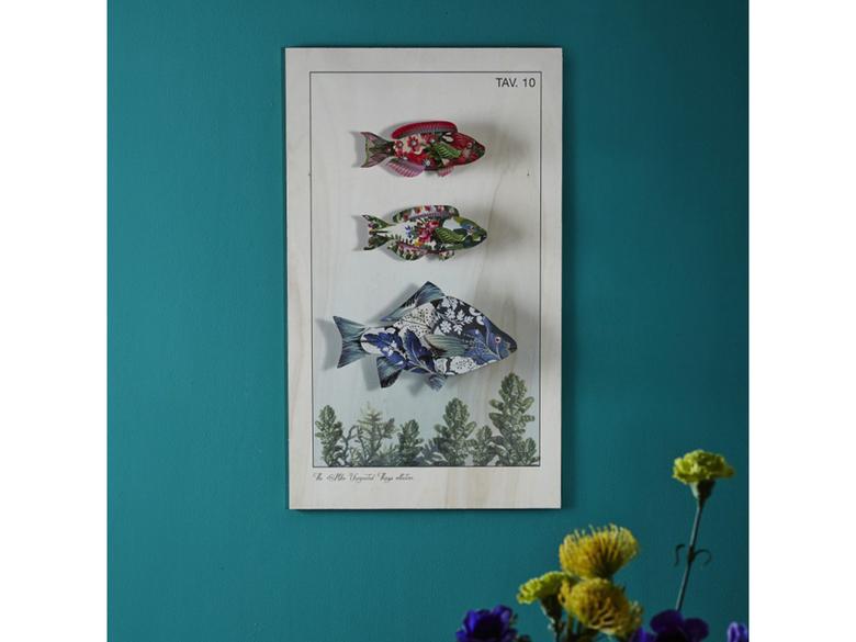 Dekoration fisk `Carpe Diem`
