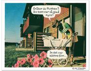 Affisch Jan Stenmark 'Plutten'