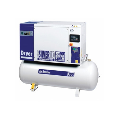 Fiac Skruvkompressor New Silver 10 hk