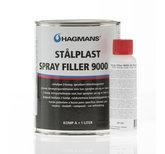 Hagmans Stålplast.Spray Filler 9000 2K 1L