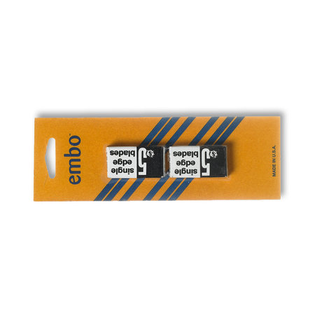 Embo Single edge blades