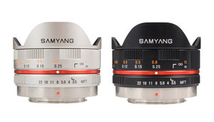 SAMYANG 7,5MM FISHEYE MICRO 4/3