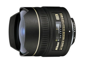 Nikon DX Fisheye 10,5MM F2.8G