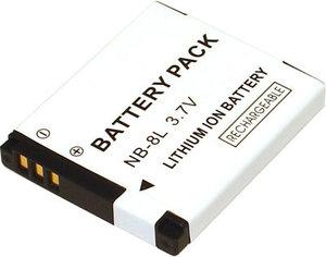 Batteri motsvarande Canon NB-8L