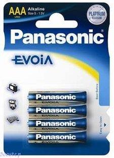 Panasonic Evoia AAA 4-pack