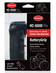 Hähnel Batterigrepp Canon 550/600/650