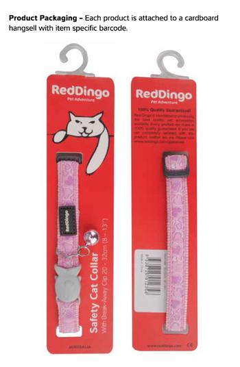 Ziggy Cat Röd