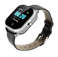 Smart klocka med GPS - läder