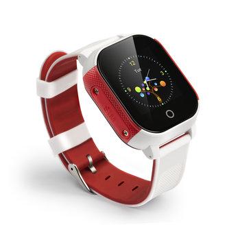 Smart klocka med GPS - Röd