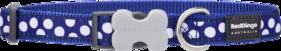 Hundhalsband Spots Blå