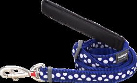 Blått Hundkoppel -Spots - justerbart