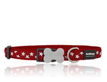 Stars Dog Collar red