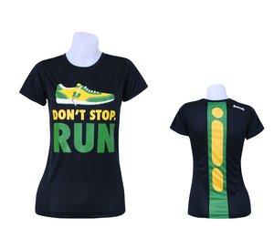 "T-shirt, BONK ""Don't stop run"" TECH, herr"