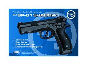 Airsoftpistol, SPRING, SP-01 SHADOW