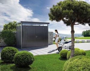 Trädgårdsskjul HighLine H2, Standarddörr