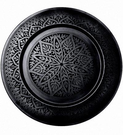 Stor bricka orientalisk shabby chic lantlig stil fransk lantstil