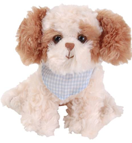Buddylina hund mjukisdjur Bukowski design